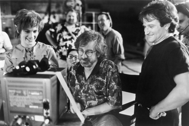 Julia Roberts, Steven Spielberg és Robin Williams - Hook (1991)