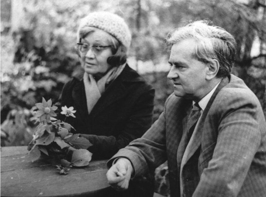 Weöres Sándor és Károlyi Amy