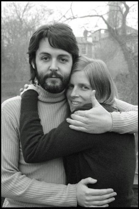 Paul és Linda McCartney 1969-ben