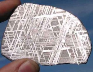 A widmanstätten kristályszerkezet
