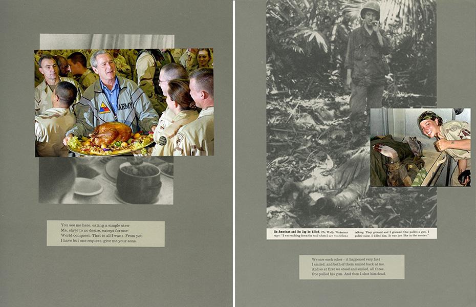 Részlet Adam Broomberg és Oliver Chanarin War Primer 2 című publikációjából (Fotó: port-magazine.com)
