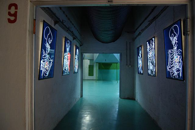 Edo Murtic művei (Fotó: bijenale.ba)