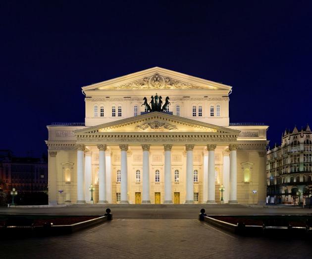 A moszkvai Bolsoj Színház (Fotó: commons.wikimedia.org)