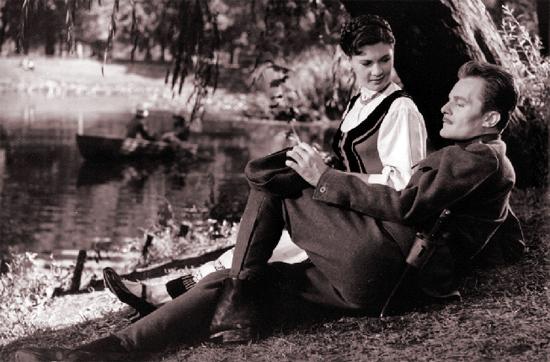 Bara Margit és Darvas Iván (Fehér Imre: Bakaruhában, 1957)