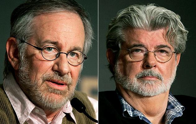 Steven Spielberg és George Lucas (Fotó: empireonline.com)