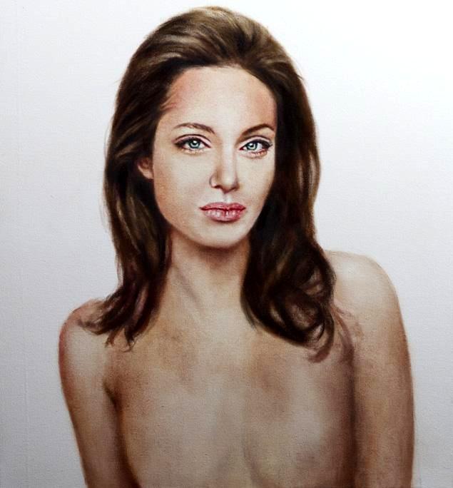 Johan Anderson festménye (Forrás: aceshowbiz.com)