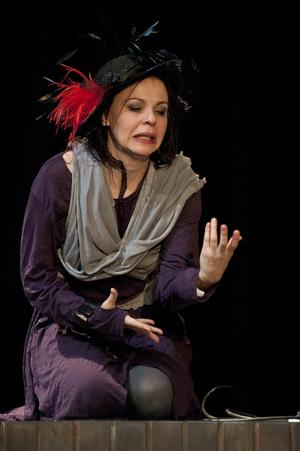 A színházcsináló - Járó Zsuzsa (Fotó: Dudás Ernő)