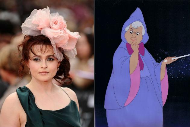 Helena Bonham Carter lesz a Tündérkeresztanya (Fotó: screencrush.com)