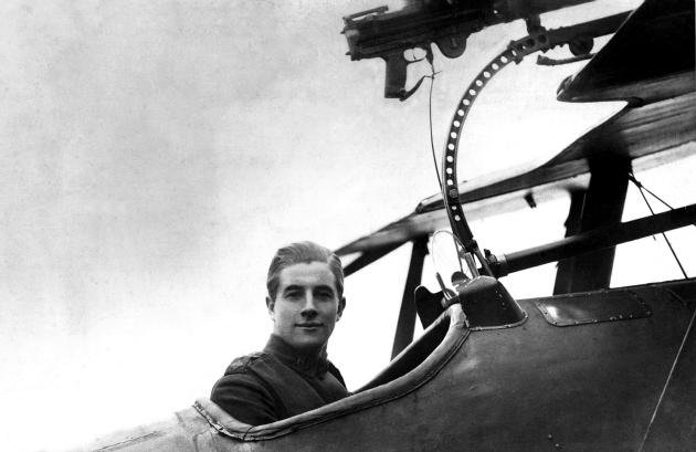 James Jimmy McCudden 57 elismert légi győzelemig jutott