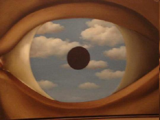 Magritte: A hamis tükör