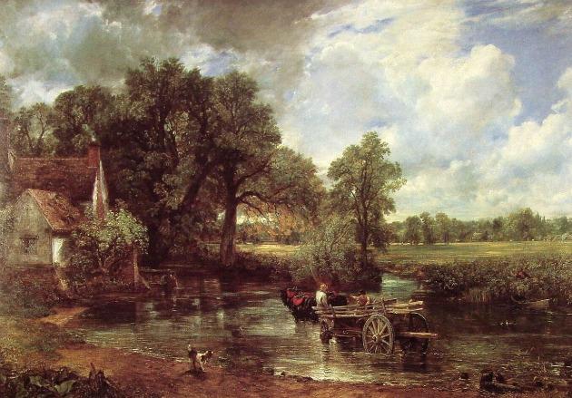 John Constable: A szénásszekér