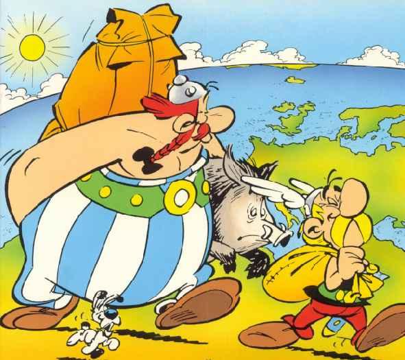 Asterix és Obelix újra nemzetközi vizeken