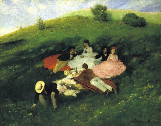 Szinyei Merse Pál: Majális (1873)