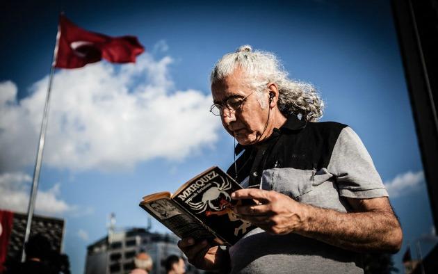 Gabriel García Marquez: Leaf Storm (Fotó: George Henton/Al Jazeera)