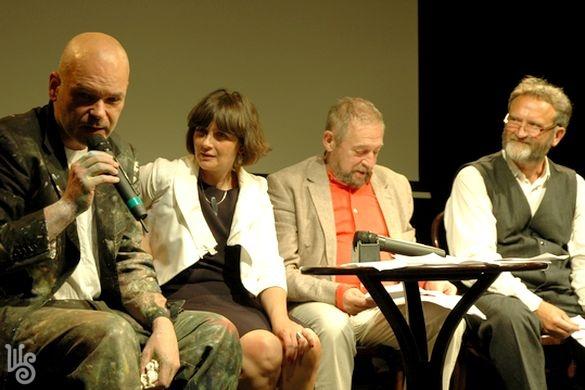 Oroszy Csaba, Veres Éva, Jordán Tamás,  Dr. Fűzfa Balázs (Fotó: wssz.hu)