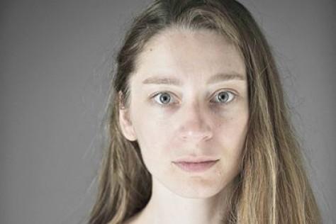 Kathleen Morgeneyer, a salzburgi Landestheater előadásának főszereplője