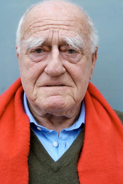 Erich Lessing (Fotó: Daniel Shaked)