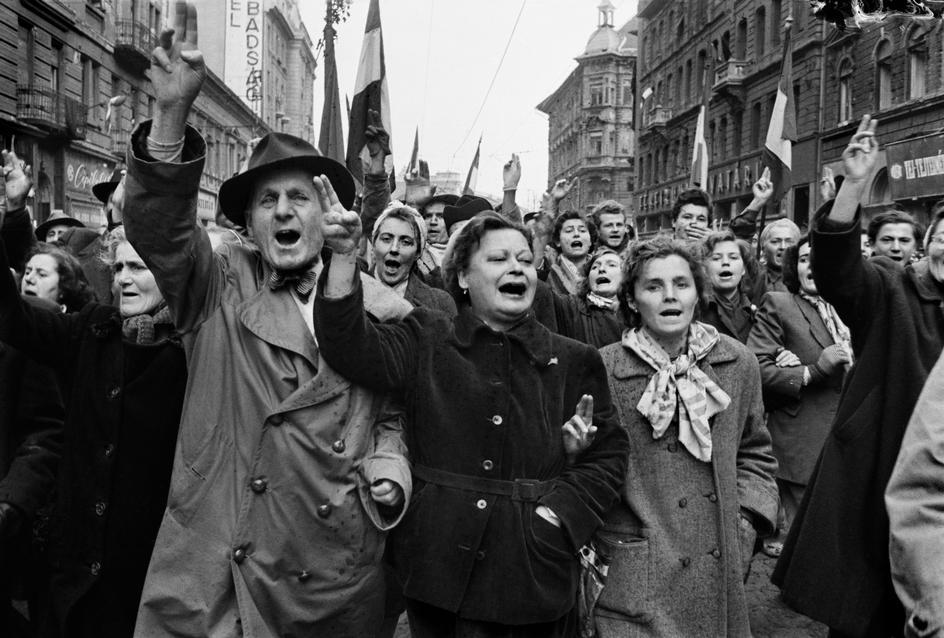 Erich Lessing felvétele az 1956-os forradalomról