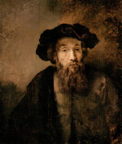 Rembrandt: Szakállas ember sapkában (1650-es évek vége)