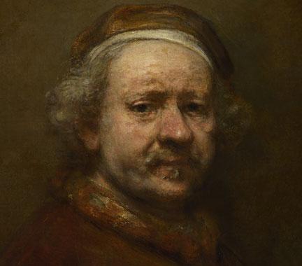 Rembrandt önarcképe 1669-ből (Fotó: nationalgallery.org.uk)