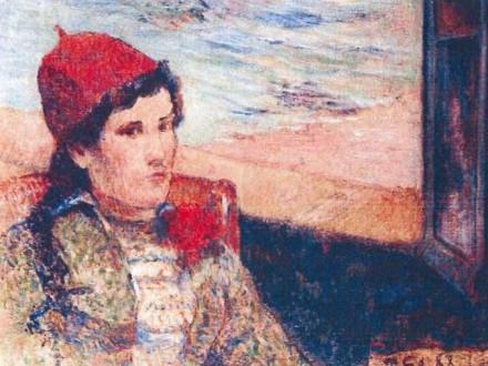 Paul Gauguin: Lány a nyitott ablakban (1898)