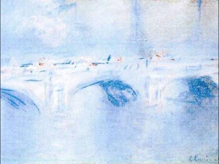 Claude Monet: A Waterloo-híd, London (1901)