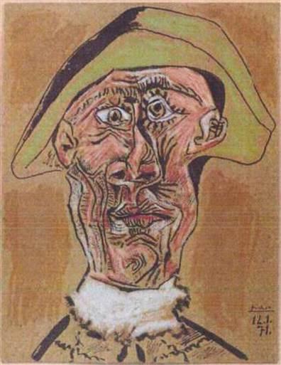 Pablo Picasso: Harlequin (1971)