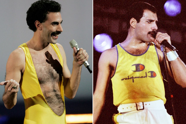 Mégsem Cohen lesz Freddie Mercury (Fotó: screencrush.com)