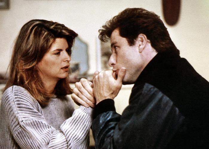 Kristie Alley és John Travolta a Nicsak, ki beszélben (Fotó: examiner.com)