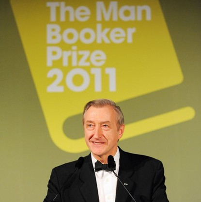 Julian Barnes a Man Booker díjátadóján 2011-ben (Fotó: yorkvision.co.uk)