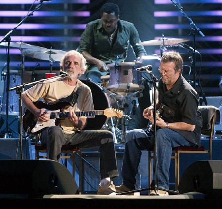 JJ Cale és Eric Clapton (Fotó: last.fm)