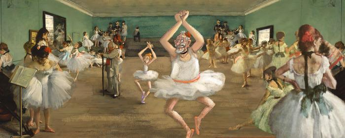 Balettóra Degas-val