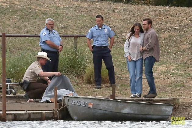 Julia Roberts és Ewan McGregor az August: Osage County forgatásán (Fotó: justjared.com)