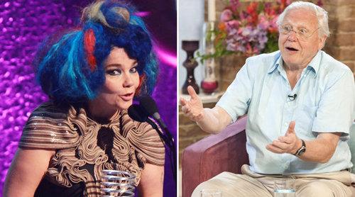 Björk és David Attenborough