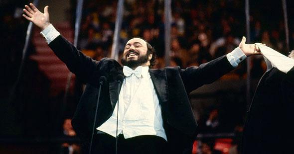 Luciano Pavarotti (Fotó: pbs.org)