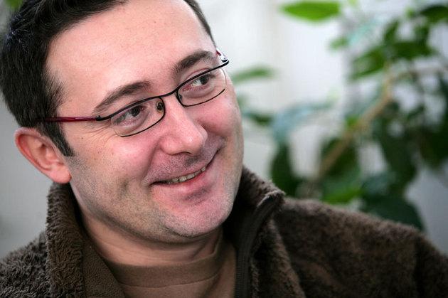 A rendező, Tudor Giurgiu (Fotó: filmetari.com)