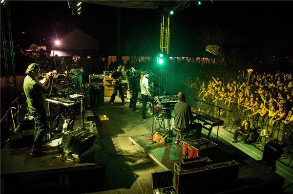 Quimby a színpadon  (fotó: mti/Sóki Tamás)