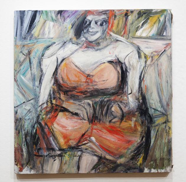 Willem de Kooning: Portrait of Woman