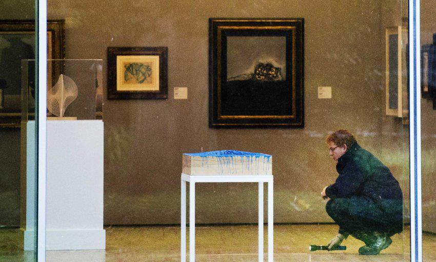 Helyszínelés a rotterdami Kunsthalban (Fotó: vr1africa.com)