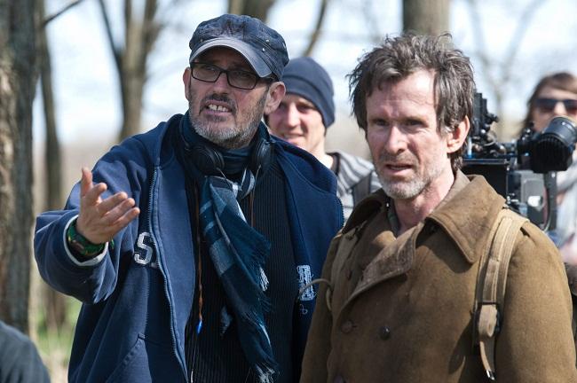 Szász János rendező a forgatáson (Fotó: hir24.hu)