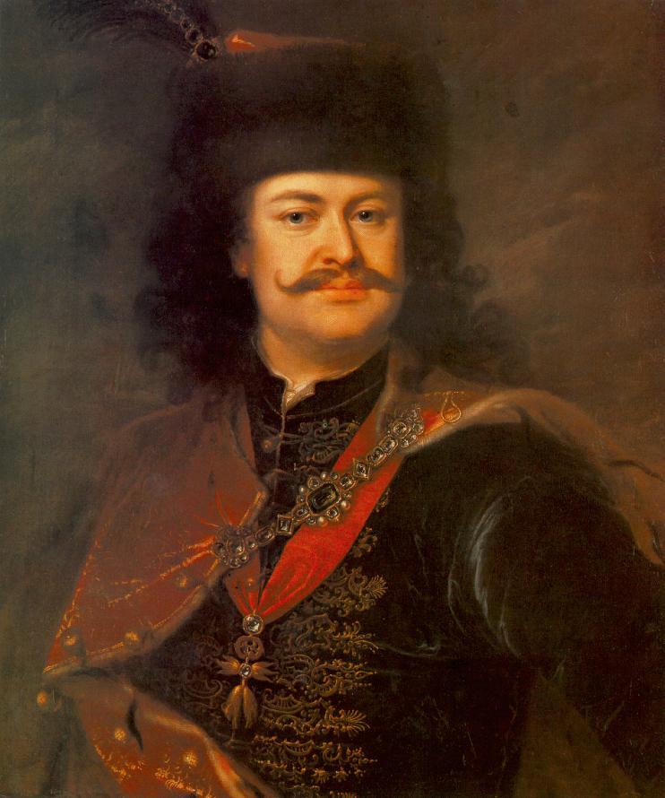 Mányoki Ádám festménye II. Rákóczi Ferencről (Fotó: commons.wikimedia.org)