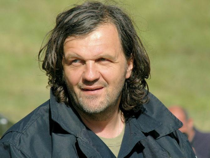 Emir Kusturica (Fotó: librered.net)