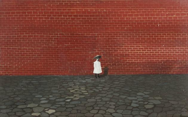 Ország Lili: Kislány fal előtt (1955)