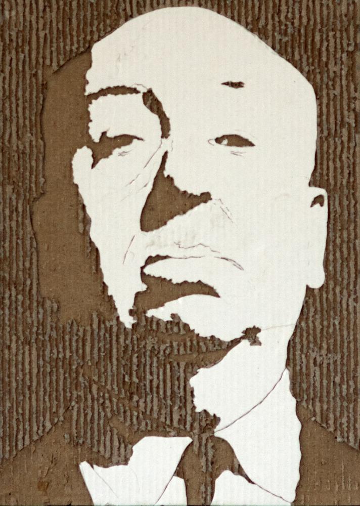Giles Oldershaw: Alfred Hitchcock