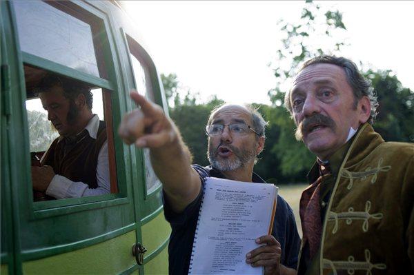 Scherer Péter, Rudolf Péter és Szacsvay László (MTI Fotó: Kallos Bea)