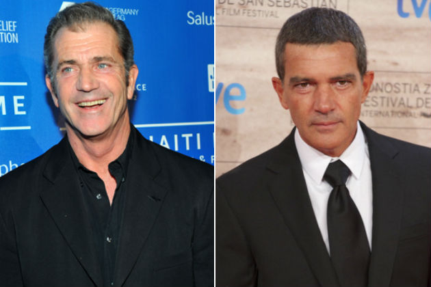 Mel Gibson és Antonio Banderas is feláldozhatók lesznek (Fotó: screenrush.com)