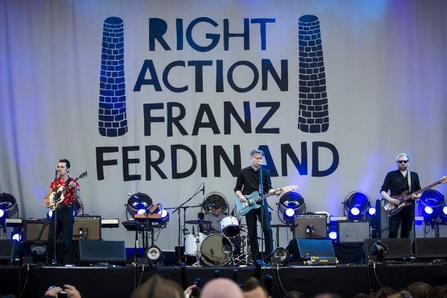A Franz Ferdinand koncertje a Szigeten (Fotó: Sziget/Mohai Balázs)