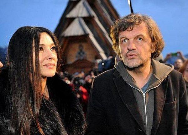 Monica Belucci és Emir Kusturica (Fotó: depo.ba)