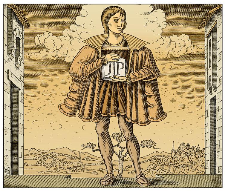 Janus Pannonius (A képet Orosz István készítette)