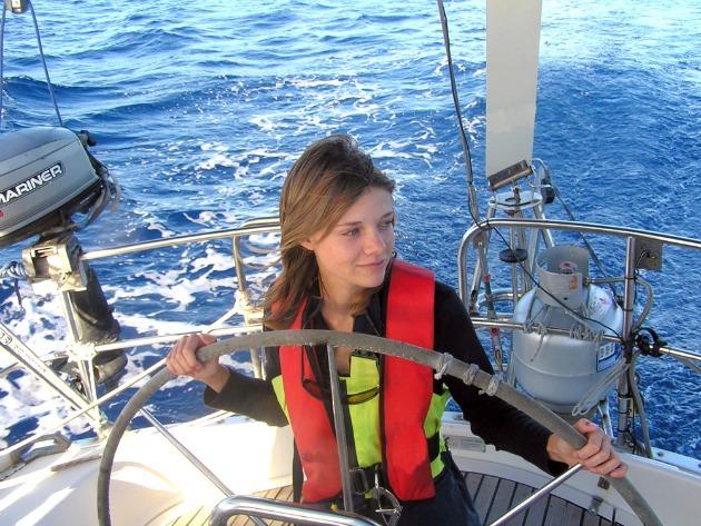 Jessica Watson (Fotó: mediamaritim.de)